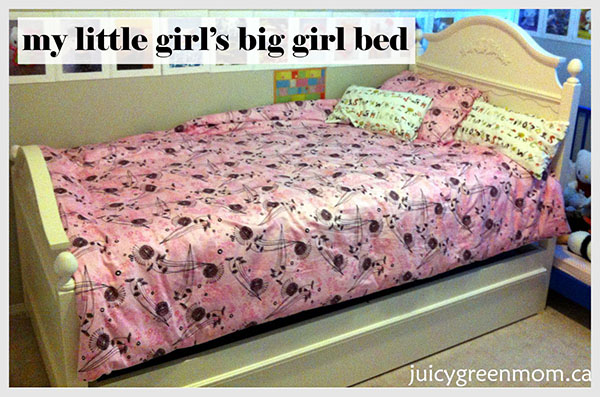 "My Little Girl's ""Big-Girl"" Non-Toxic Bed"