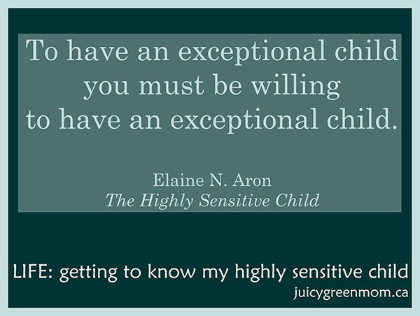LIFE: Getting to Know My Highly Sensitive Child
