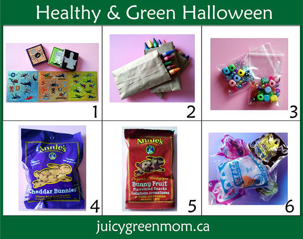 Healthy & Green Halloween Ideas