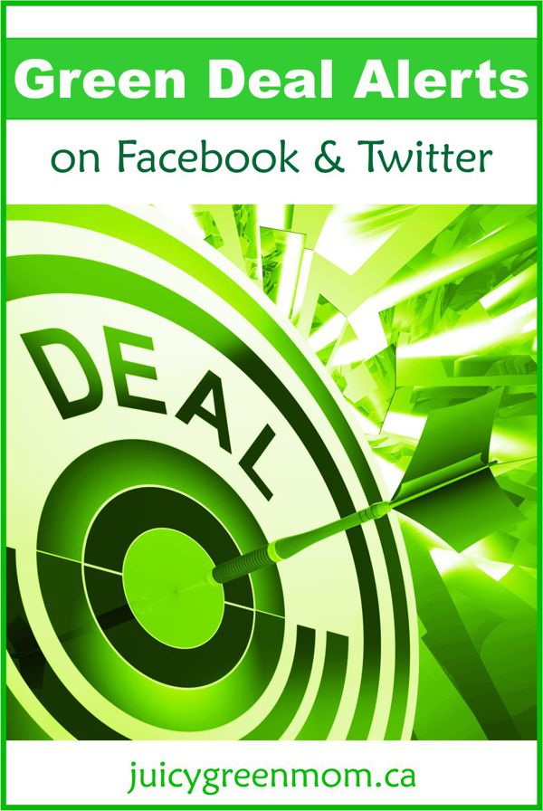 GREEN DEAL ALERTS on Facebook & Twitter