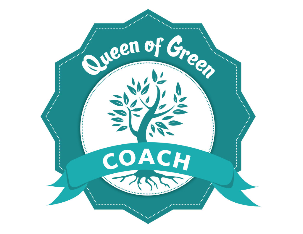 Queen of Green coach badge