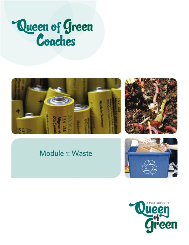 How to Green Waste: Queen of Green Coaching project