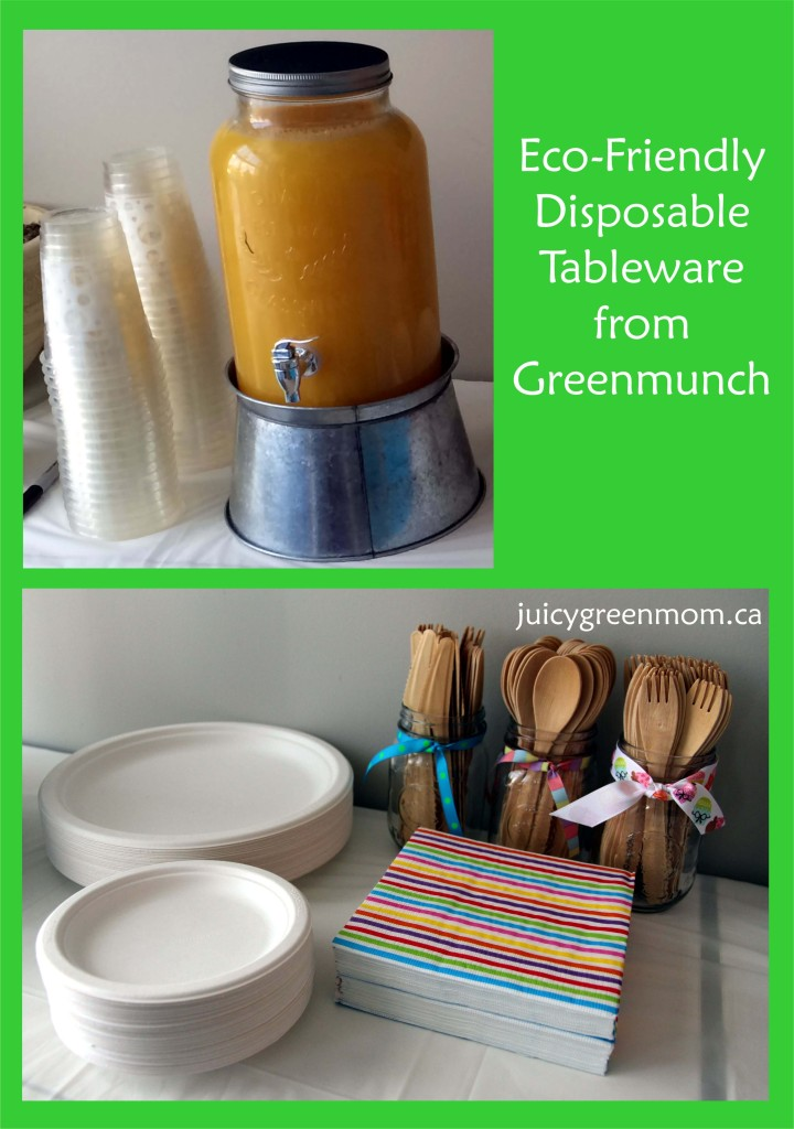 Eco-Friendly Disposable Tableware from Greenmunch