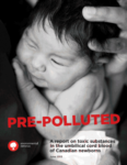 "Newborns are starting life ""pre polluted"""