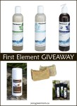 First Element natural products review and giveaway