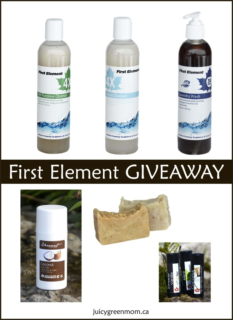 First Element: Review & Giveaway