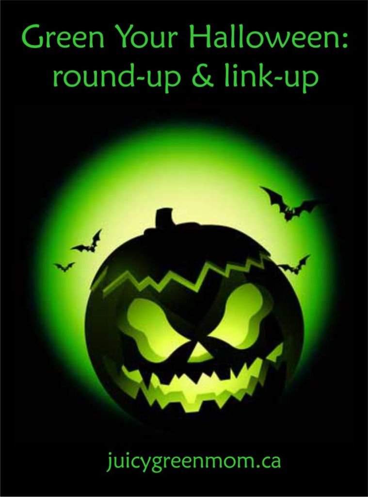 Green Your Halloween: round-up & link-up