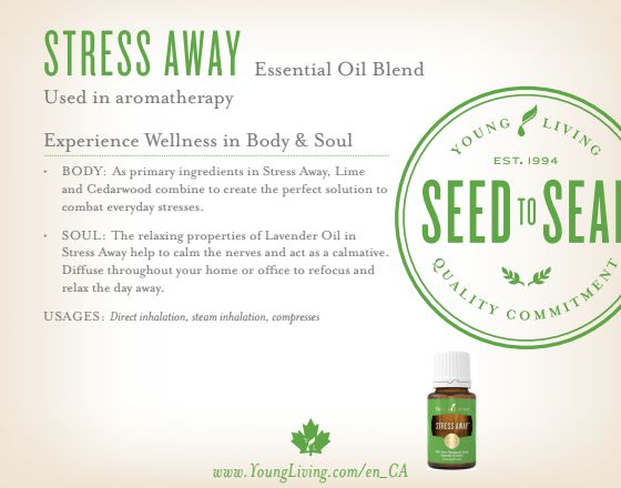stress away uses natural health product juicygreenmom
