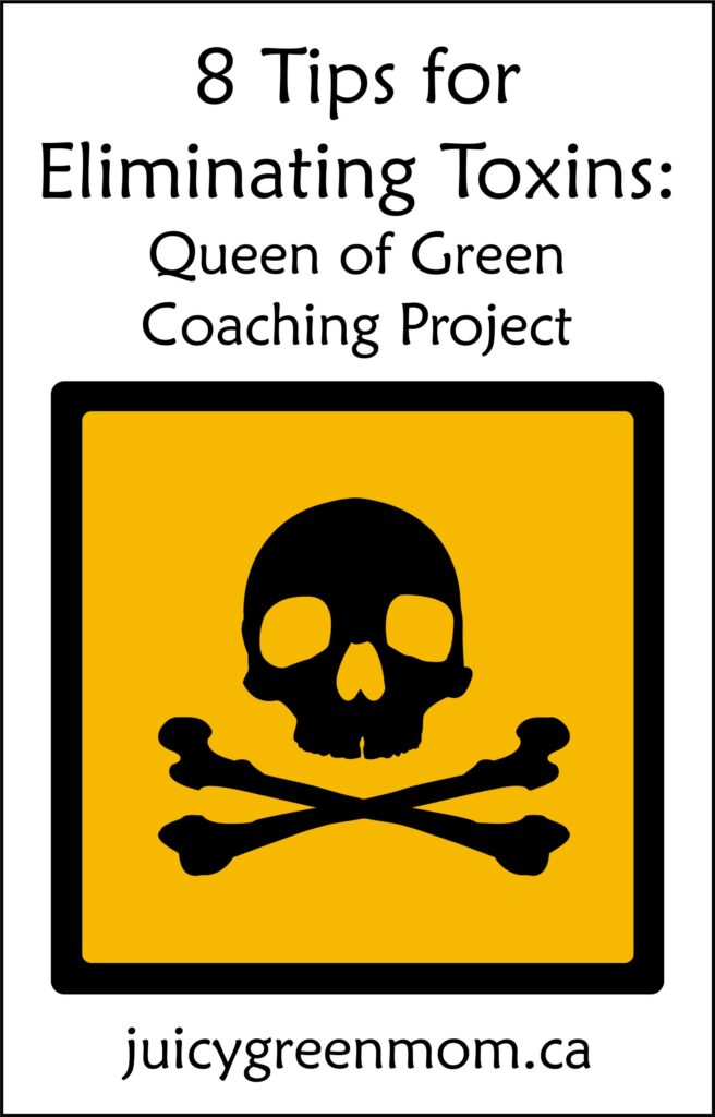 8 Tips for Eliminating Toxins: Queen of Green Coaching Project