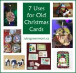 7 Uses for Old Christmas Cards