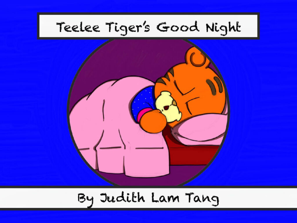 Bedtime eBook: Teelee Tiger's Good Night