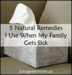 natural remedies when my family gets sick