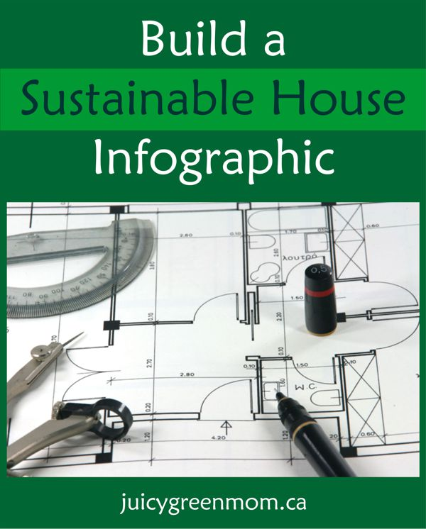 Build a Sustainable House Infographic