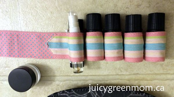pinned essential oils organizer