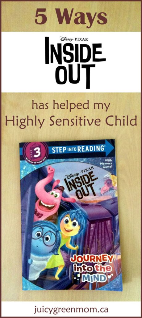 RAVE: 5 Ways INSIDE OUT Has Helped My Highly Sensitive Child