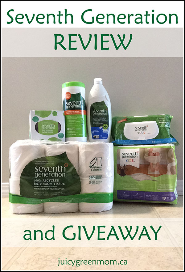 Seventh Generation REVIEW & GIVEAWAY