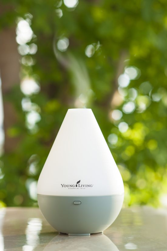 young living dew drop diffuser juicy green mom