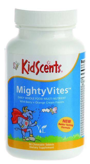 young living kidscents mightyvites multivitamin supplement