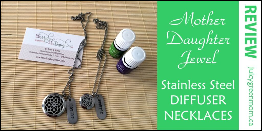 mother daughter jewel review stainless steel diffuser necklaces