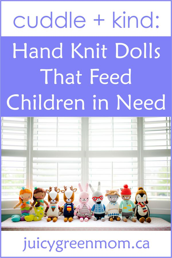 cuddle + kind hand knit dolls juicygreenmom