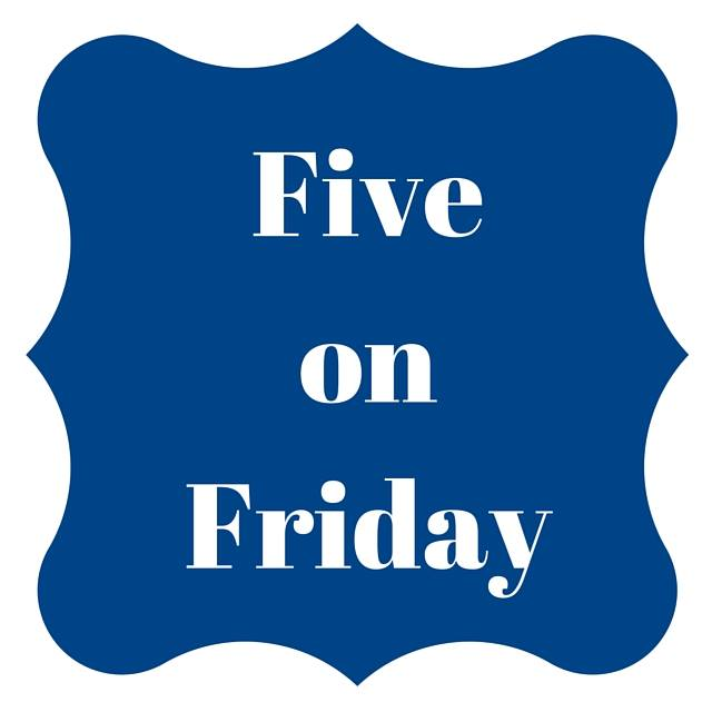 Five on Friday – Thanksgiving #FiveOnFriday