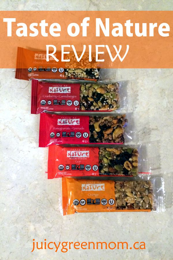taste of nature review juicygreenmom