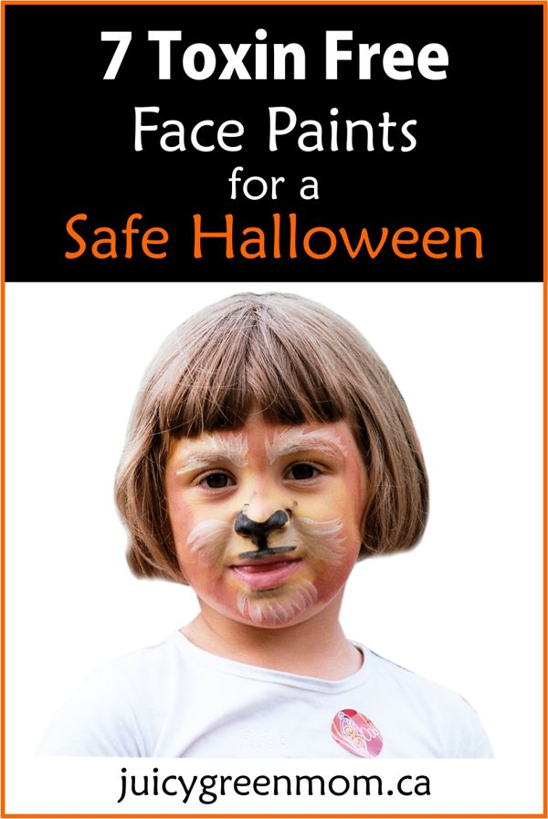 7 Toxin Free Face Paints for a Safe Halloween