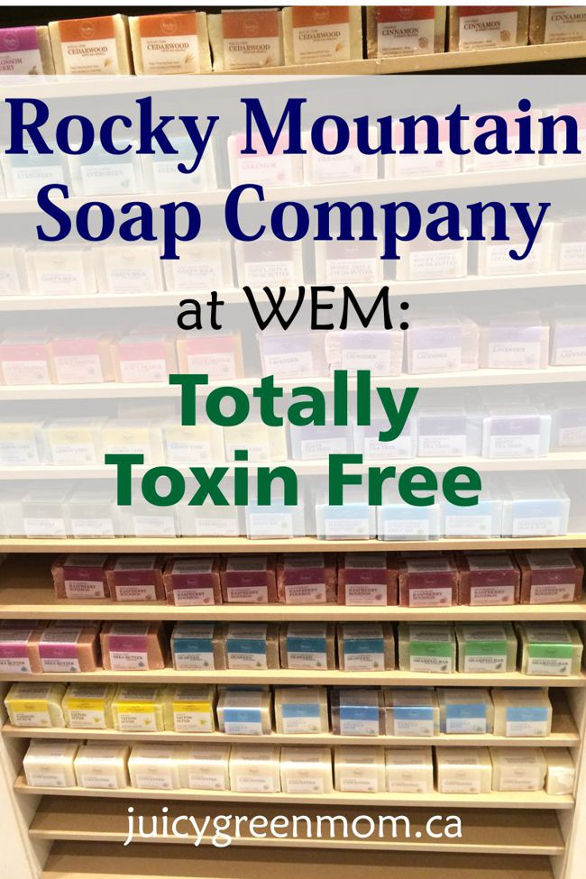 Rocky Mountain Soap Company at WEM: Totally Toxin Free