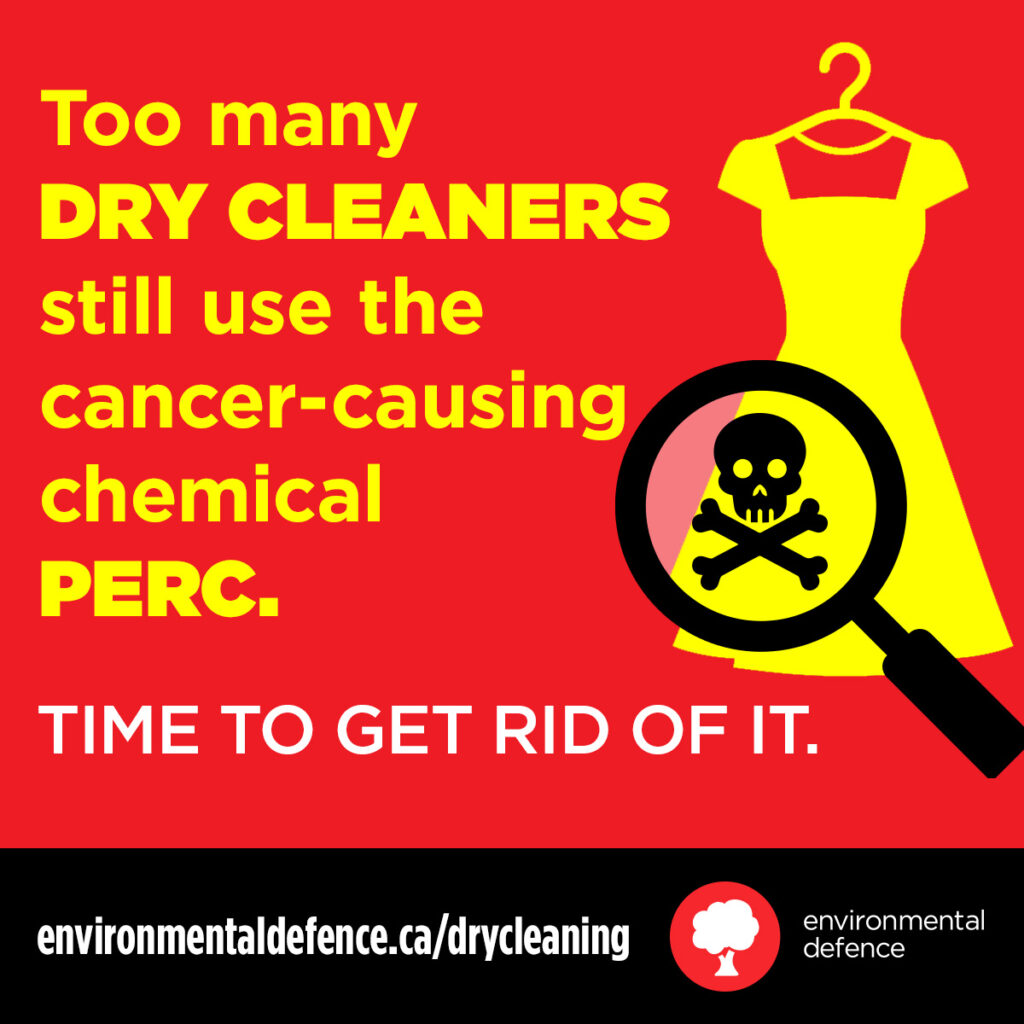 dry cleaning toxic PERC environmental defence juicygreenmom