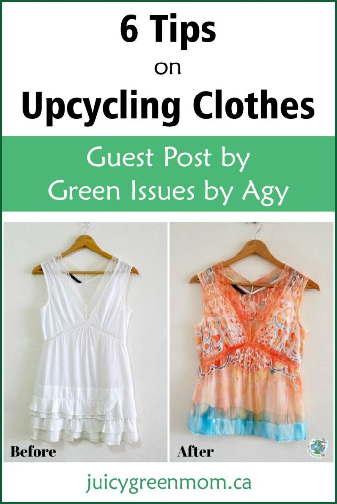 6 Tips on Upcycling Clothes – Guest Post
