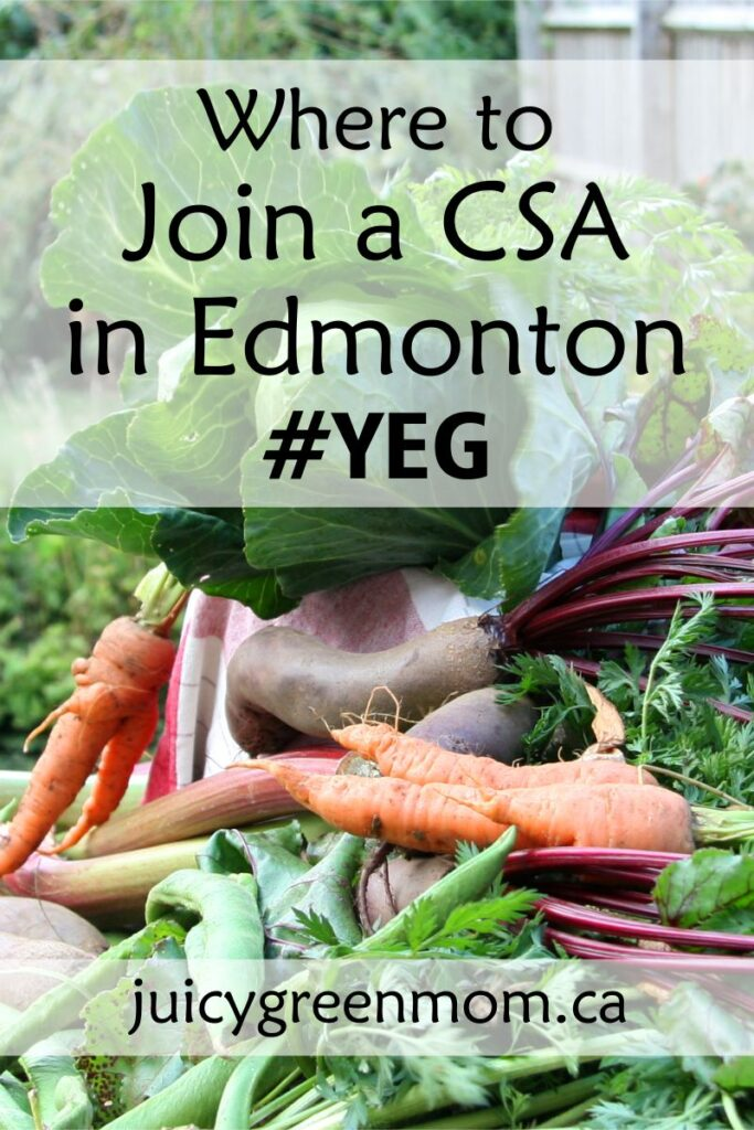 Where to Join a CSA in Edmonton #YEG