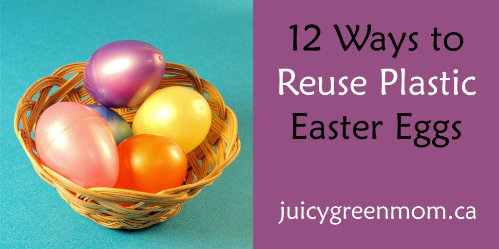 ways to reuse plastic easter eggs juicygreenmom landscape