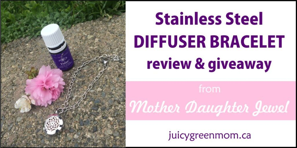 mother daughter jewel stainless steel diffuser bracelet review jucygreenmom landscape