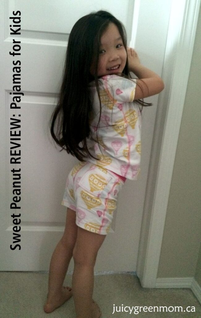 sweet peanut review pajamas for kids juicygreenmom hot air balloons