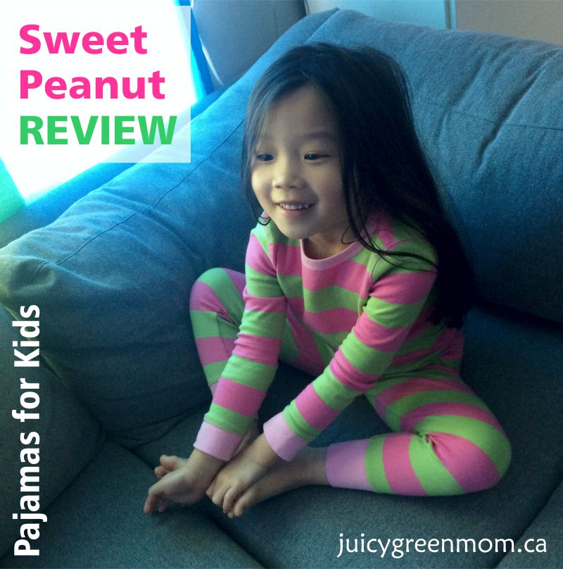 Sweet Peanut REVIEW: Pajamas for Kids