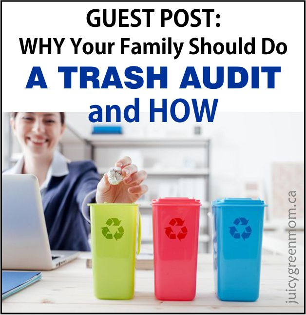 GUEST POST: Why Your Family Should Do a Trash Audit and How