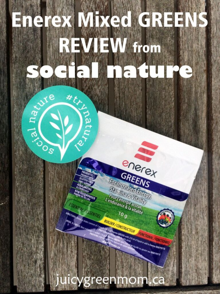 Enerex Mixed Greens REVIEW from Social Nature #TryNatural