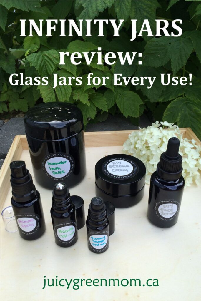infinity jars review glass jars for every use juicygreenmom