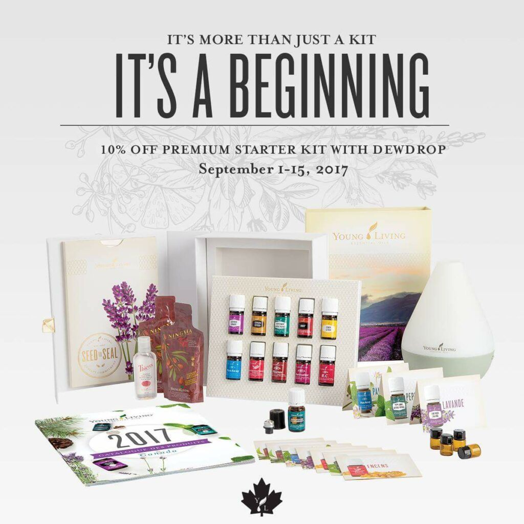 Young Living Essential Oils Premium Starter Kit at 10% OFF!