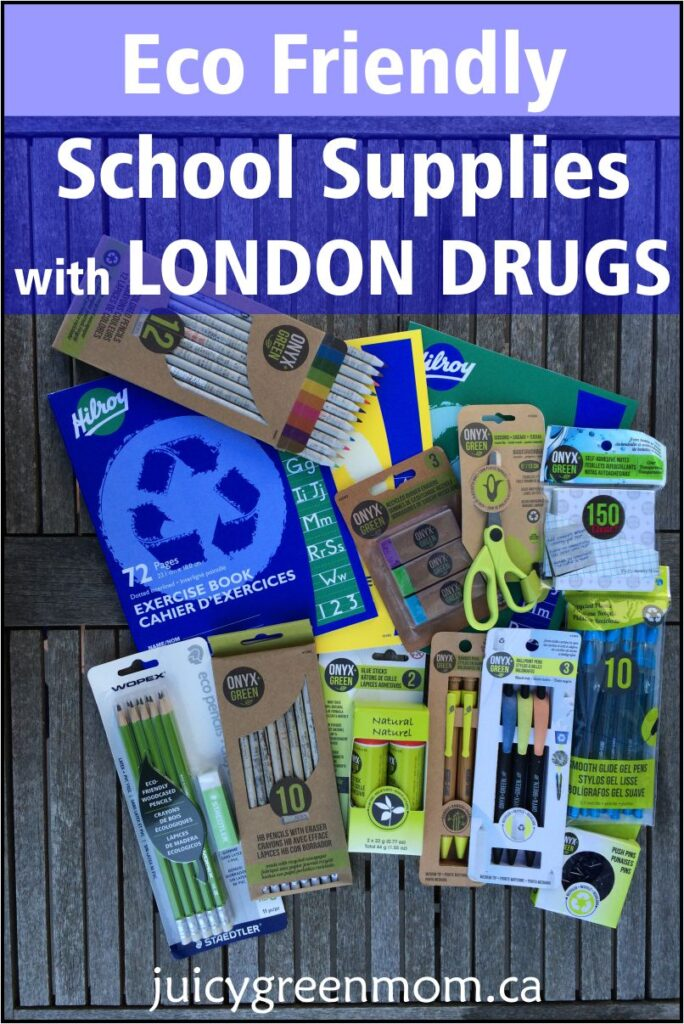 Eco Friendly School Supplies with London Drugs