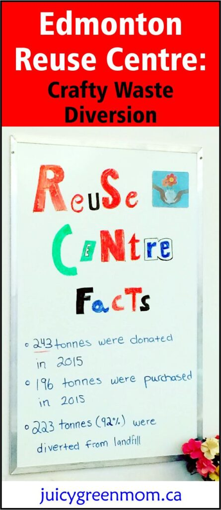Edmonton Reuse Centre: Crafty Waste Diversion #YEG