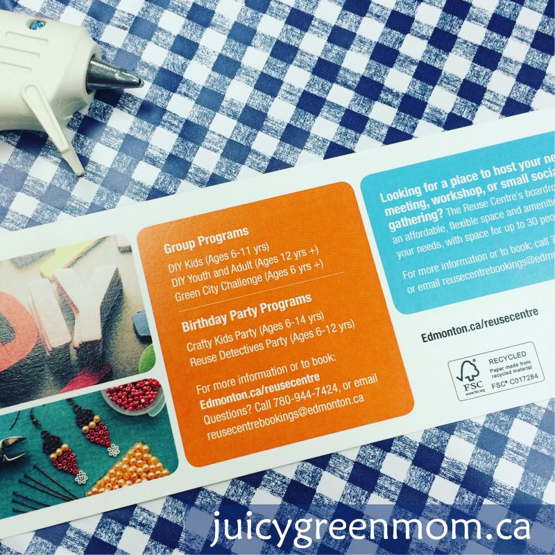 edmonton reuse centre group programs juicygreenmom