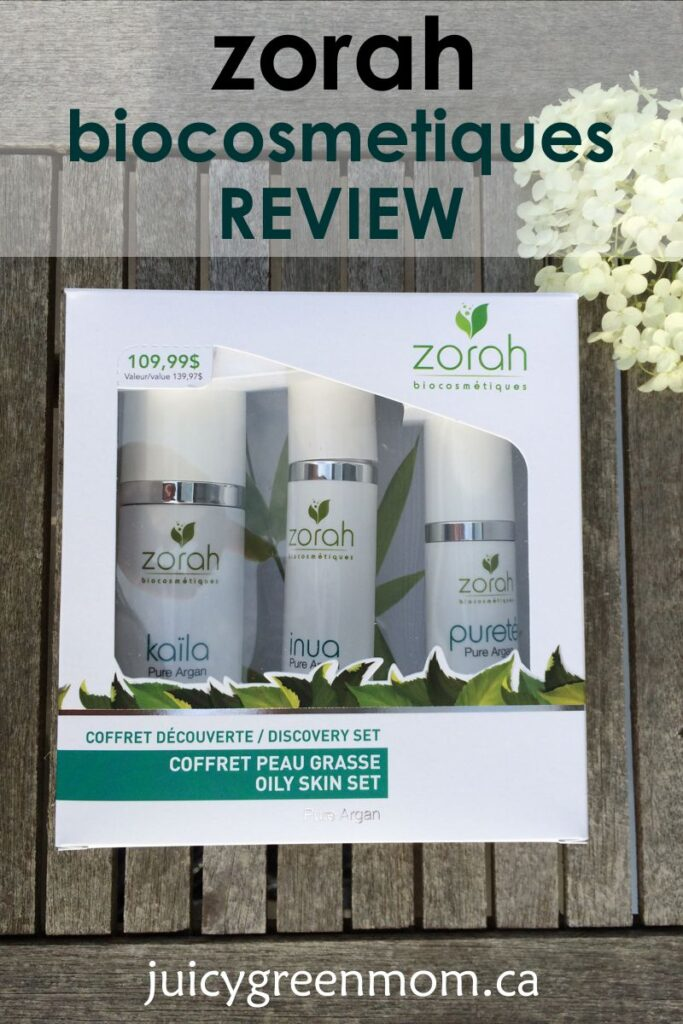 Zorah biocosmetiques: Oily Skin Set REVIEW & GIVEAWAY