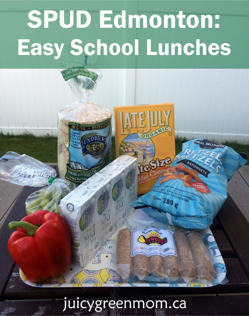 SPUD Edmonton: Easy School Lunches