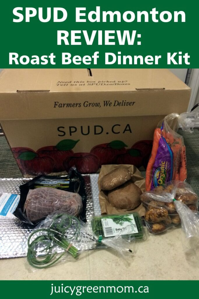 SPUD Edmonton Review Roast Beef Dinner Kit juicygreenmom