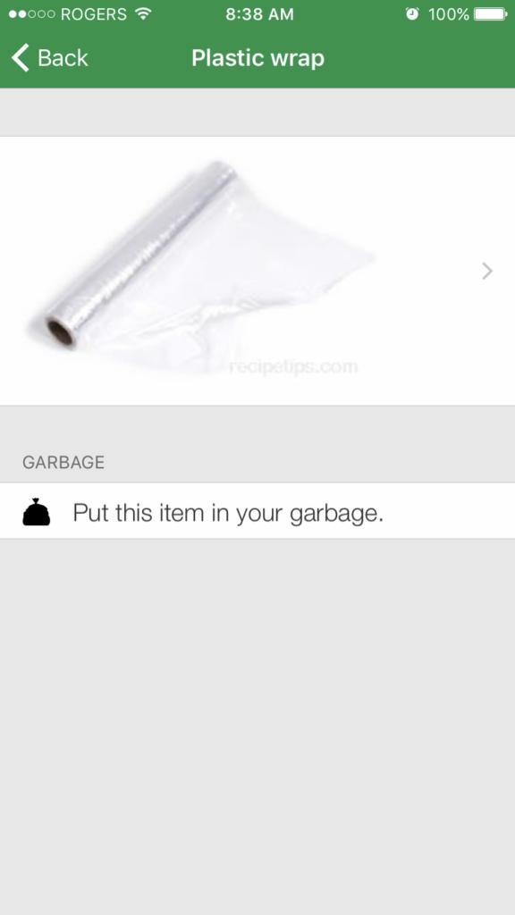 plastic wrap wastewise app juicygreenmom