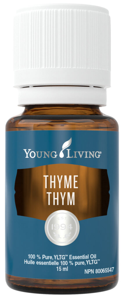 young living thyme essential oil natural health product