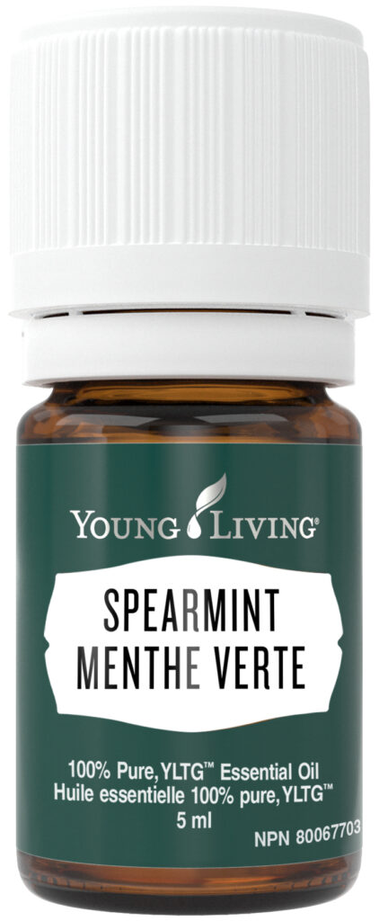 young living spearmint essential oil natural health product