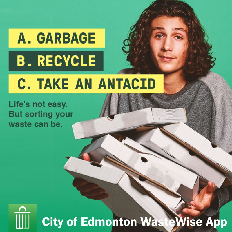 City of Edmonton WasteWise App #WasteWiseYEG