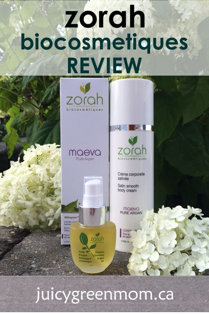 Zorah biocosmetiques: Argan Oil and Body Cream REVIEW